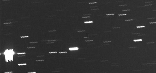 Asteroid 2012 EG5 imaged by the Virtual Telescope