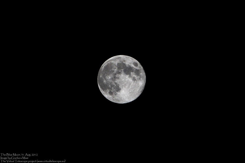 "The ""blue"" Moon: 31 Aug. 2012"