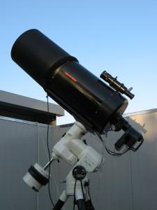 Il telescopio C11 su montatura Vixen Atlux - 2006