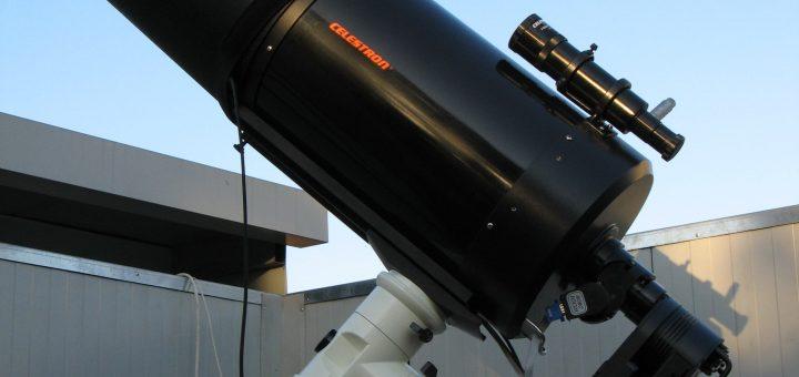 The C11 telescope on Vixen Atlux Mount