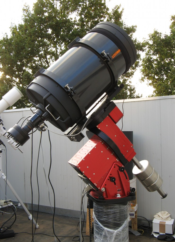 "The Celestron C14""-f/8.4 on Paramount ME"