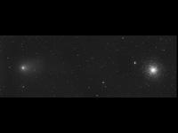Comet C/2009 P1 (Garradd) and M 15