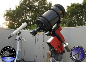 Global Astronomy Month 2012 at Virtual Telescope