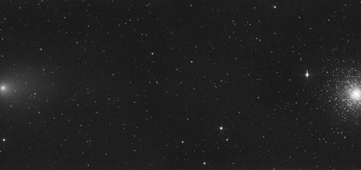 Comet C/2009 P1 (Garradd) and M15 (2011)