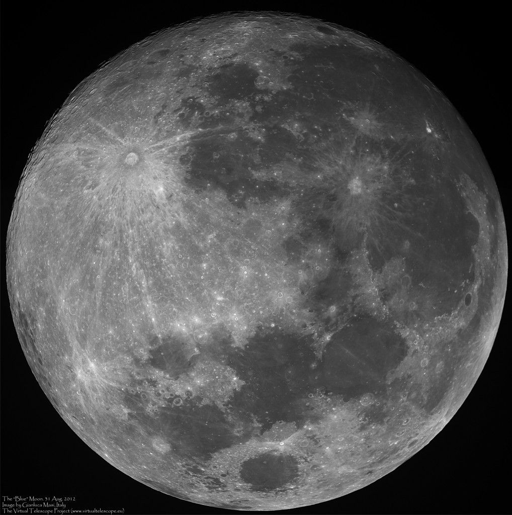 """The """"blue"""" Moon: 31 Aug. 2012"""