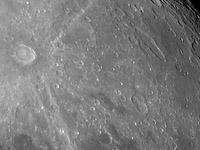 The Moon: Tycho and Gassendi