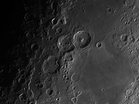 The Moon: Teophilus, Catharina e Cyrillus