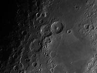 The Moon: Teophilus, Catharina e Cyrillus
