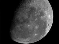 The Moon: mosaic