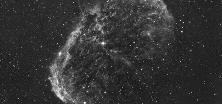 NGC 6888 imaged at the Virtual Telescope
