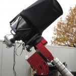 The Planevawe 17″-f/6.8 (432/2939 mm) Corrected Dall-Kirkham Astrograph telescope.