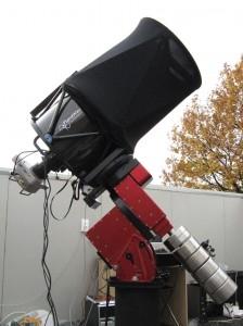 The Planevawe 17″-f/6.8 (432/2939 mm) Corrected Dall-Kirkham Astrograph telescope.