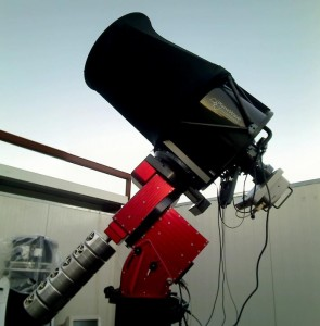 The Planewave 17 part of the Virtual Telescope