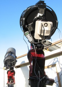 The main scopes part of the Virtual Telescope Project