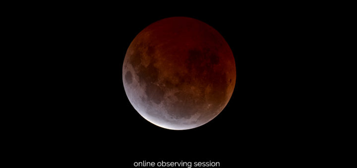"""Super Blue Moon Total Eclipse"": poster of the event"