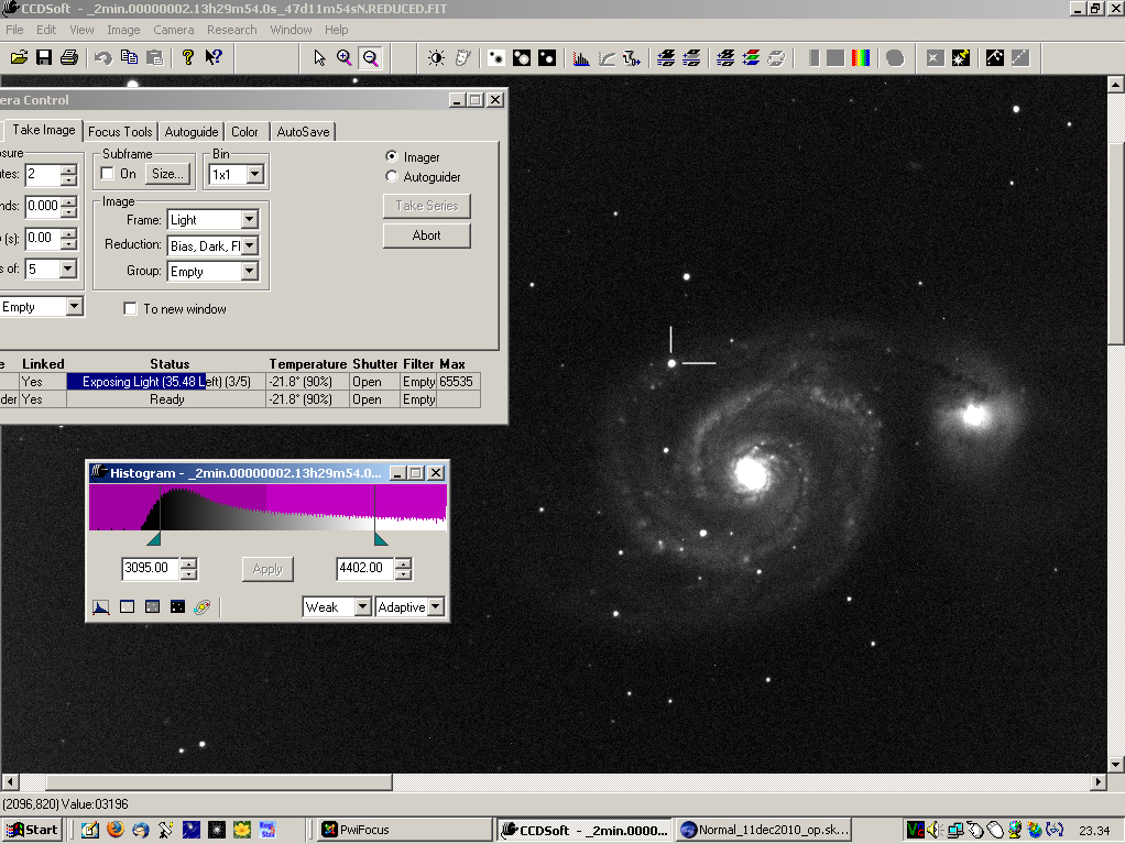 SN 2011dh: 18 June 2011