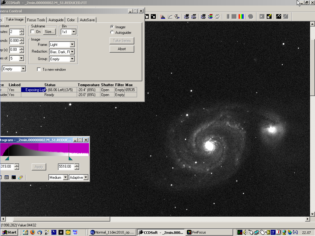 SN 2011dh: 16 June 2011
