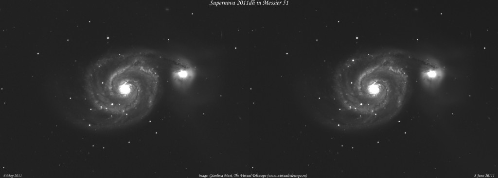 SN 2011dh: 8 June 2011