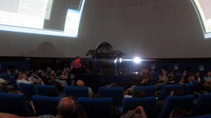 Planetarium of Rome: G. Masi and the VT in action
