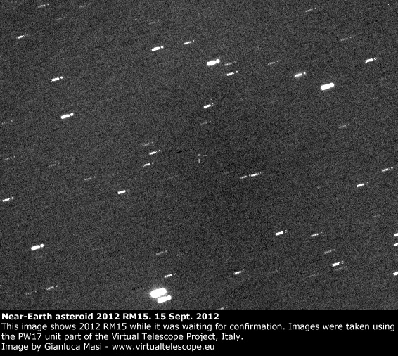 Near-Earth Asteroid 2012 RM15