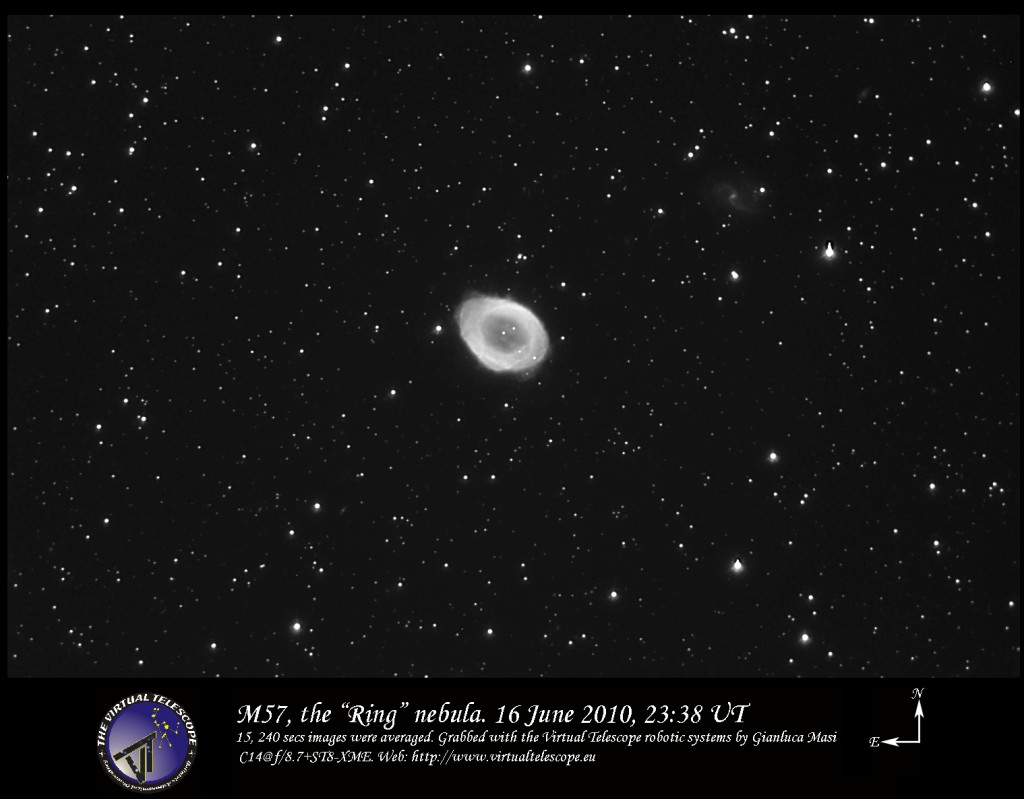 "M 57, the ""Ring"" nebula"