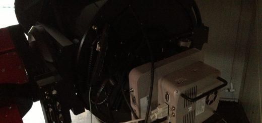 The STL-6303E reinstalled after maintenance