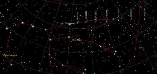 Comet C/2012 K5 (Linear): finding chart