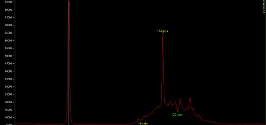 Nova Cephei 2013: a low res spectrum