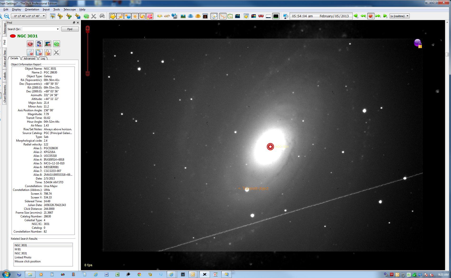 PNV J09555123+6901482 on 5 Feb. 2013