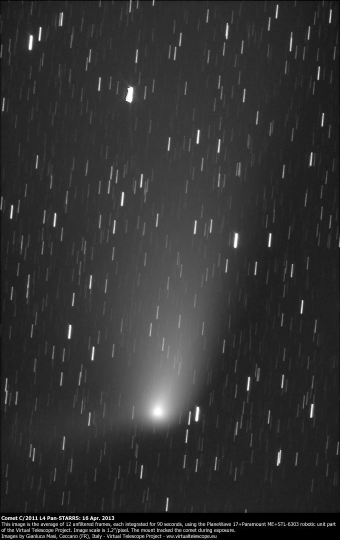 Comet C/2011 L4 Pan-STARRS: 16 Apr. 2013