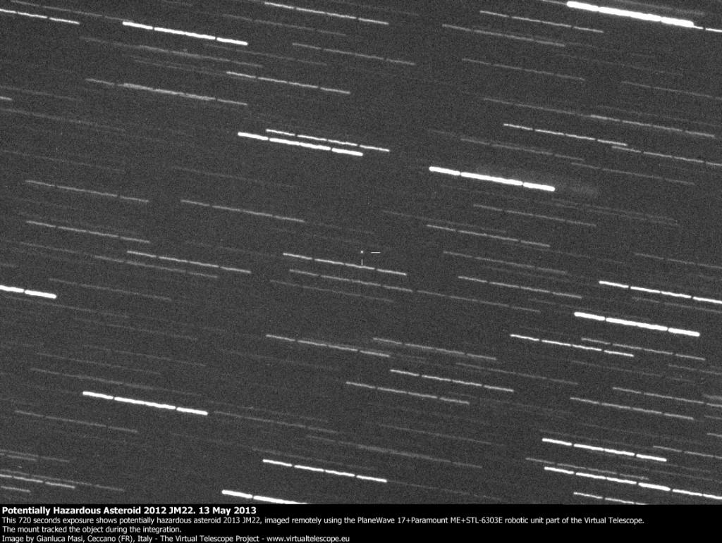 Potentially Hazardous Asteroid 2013 JM22