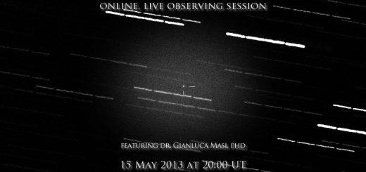 Near-Earth Asteroid 2013 JM22 close approach: online event