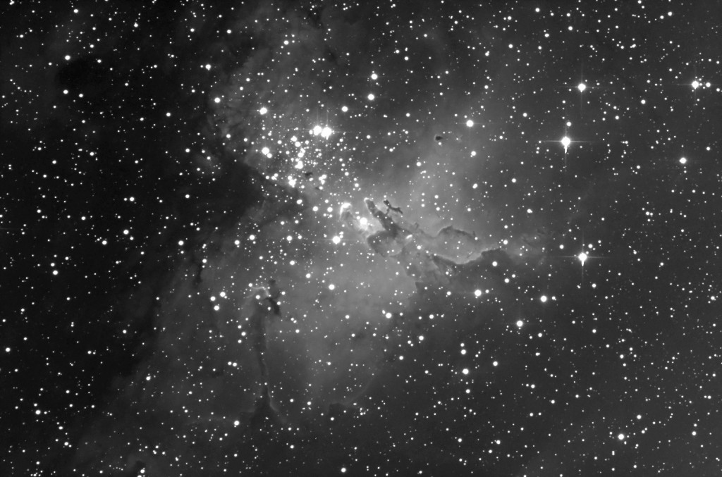 "Messier 16, the ""Eagle Nebula"""