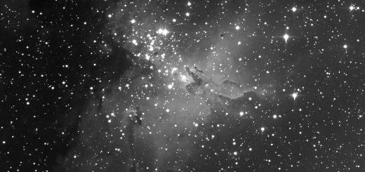 "Messier 16, the ""Eagle Nebula"""