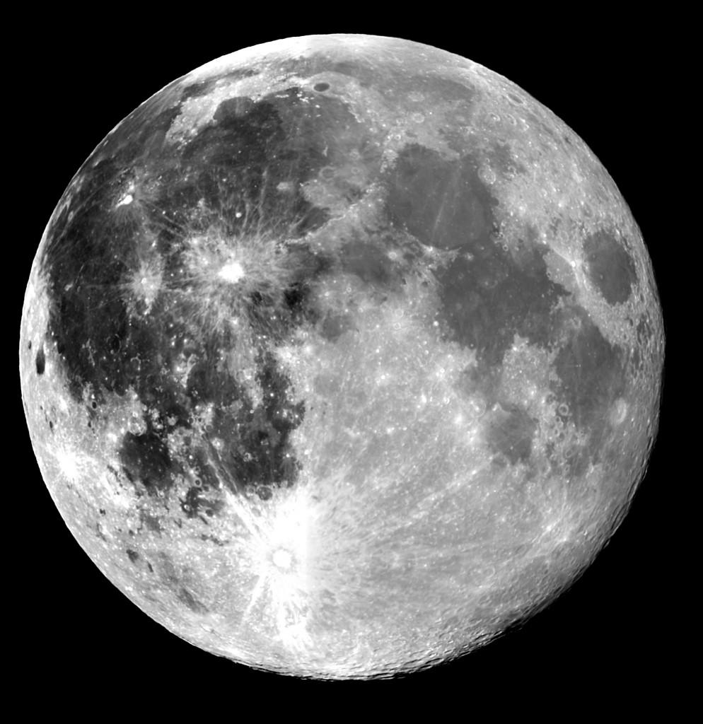 """La """"superluna"""" del 23 giugno 2013 ripresa dal Virtual Telescope"""