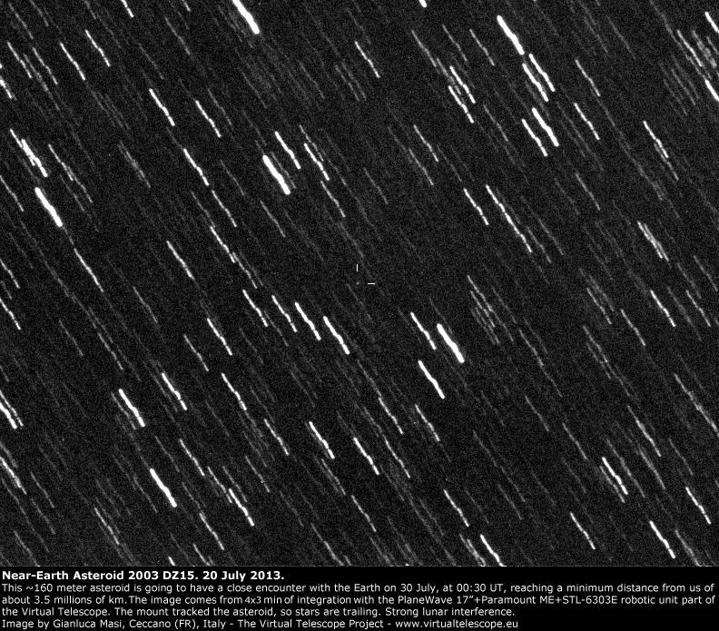 Near-Earth asteroid 2003 DZ15