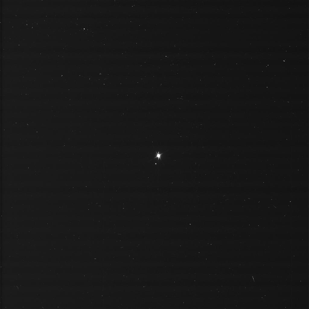 The Earth and the Moon imaged by Cassini probe from Saturn, 19 July 2013