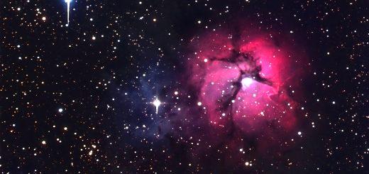 "Messier 20, the ""Trifid"" nebula"