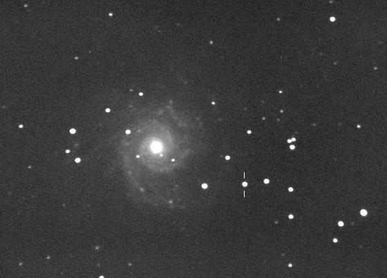 Supernova SN 2002ap (3 Feb. 2002)