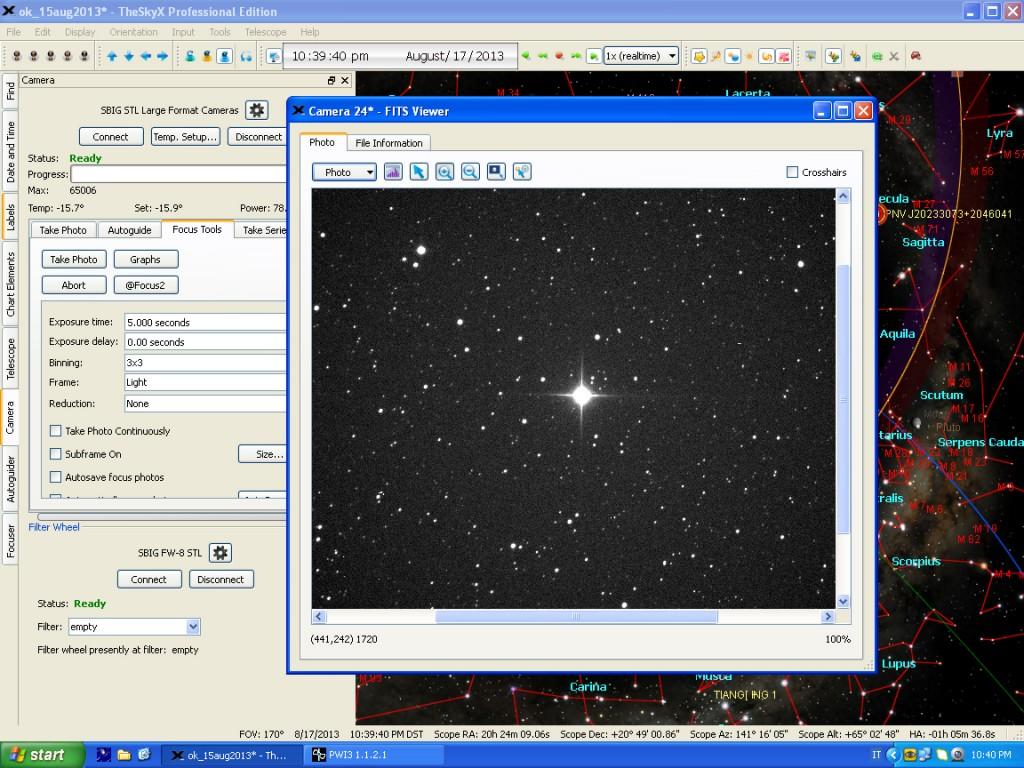 Nova Del 2013, a screenshot: 17 Aug. 2013