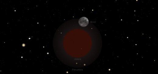 Penumbra Lunar Eclipse: 18 Oct. 2013, 23:51 UT - maximum of the eclipse