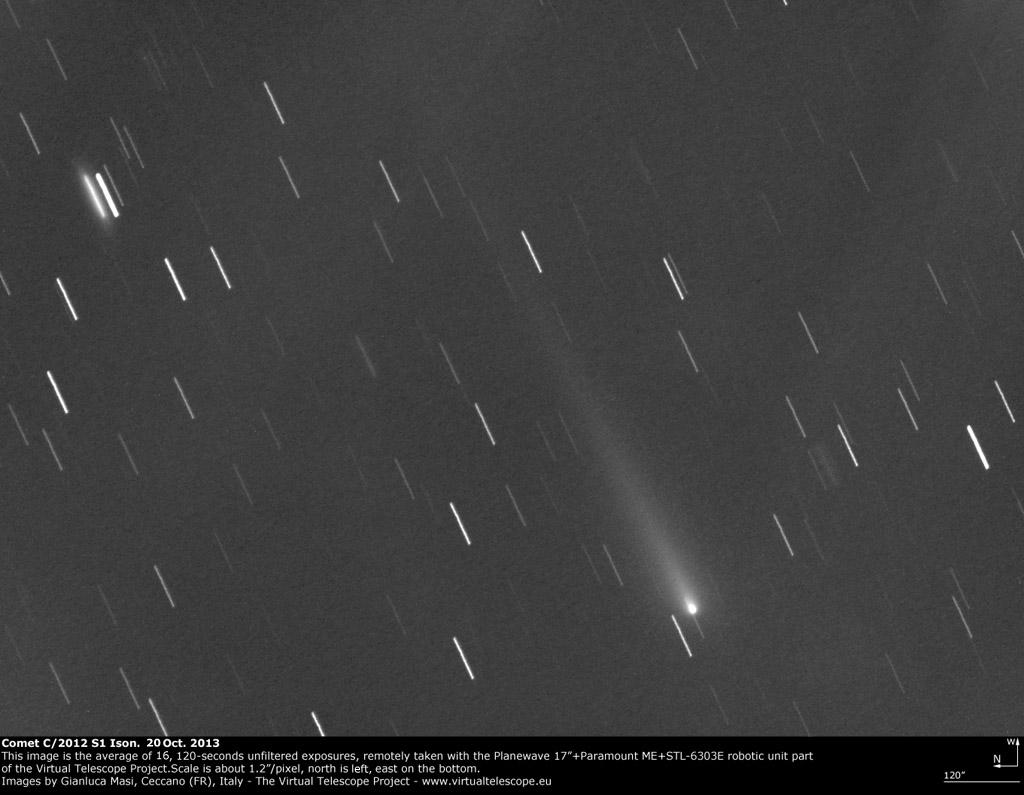 Comet C/2012 S1 Ison: 17 Oct. 2013