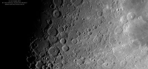 The Moon, imaged on 12 Oct. 2013, during the International Observe the Moon Night