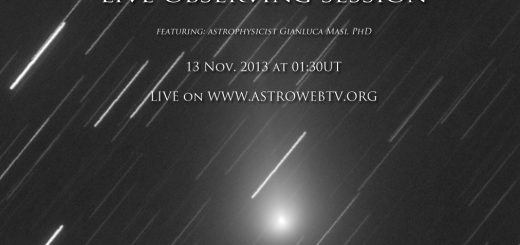 C/2013 R1 Lovejoy: live event