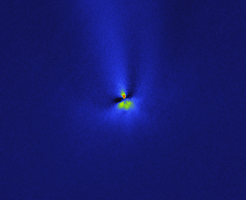 C/2012 S1, rotational gradient: 10 Nov. 2013