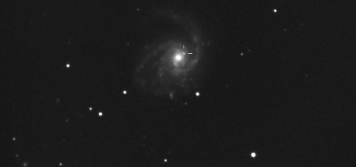 PSN J12184868+1424435 in Messier 99: 28 Jan. 2014