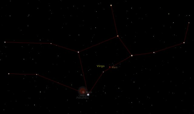 Total Lunar Eclipse: 15 Apr. 2014