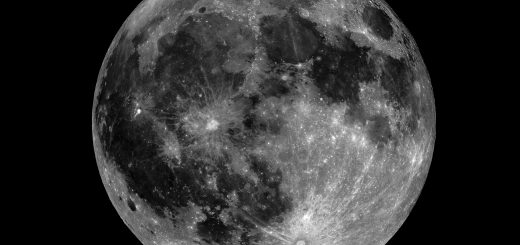 March 2014, Full Moon: an image