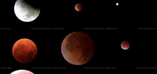 15 Apr. 2014 Total Lunar Eclipse: a souvenir image