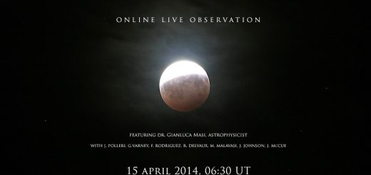 15 April 2014 Total Lunar Eclipse: poster